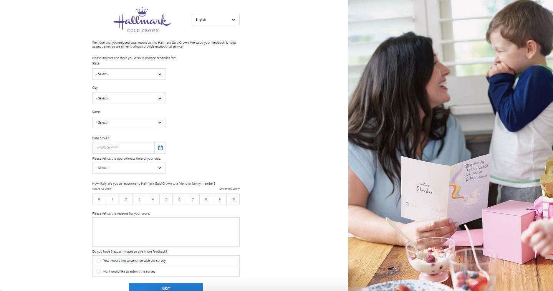 Hallmark Customer Survey