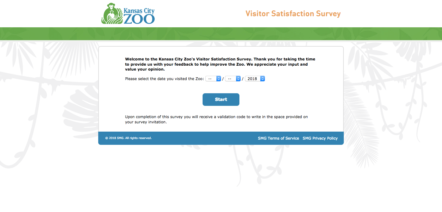 Kansas City Zoo Visitor Survey