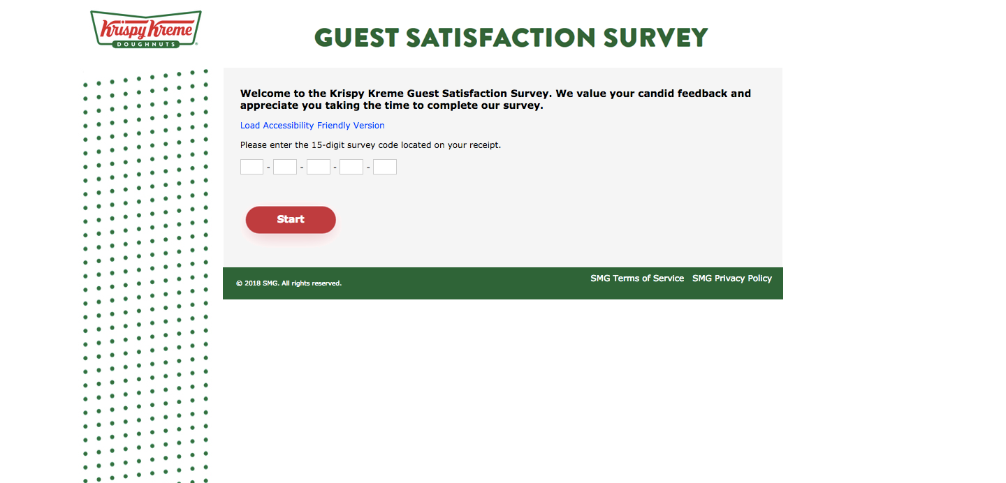 Krispy Kreme Guest Satisfaction Survey