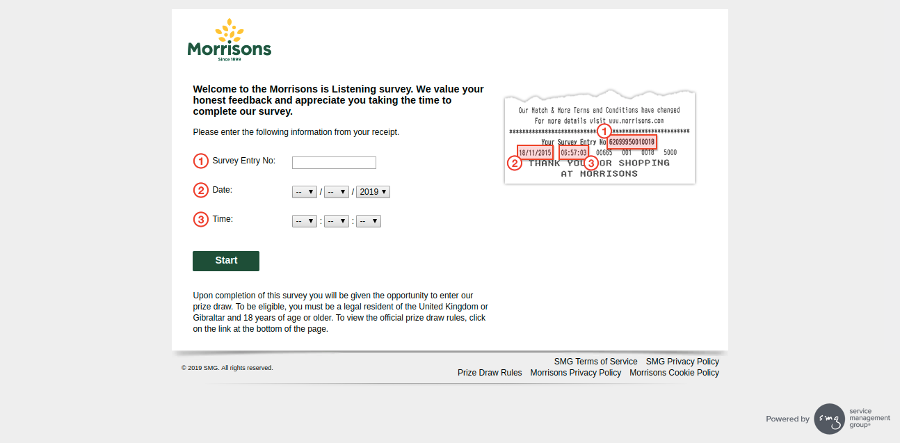 Morrisons Guest Survey