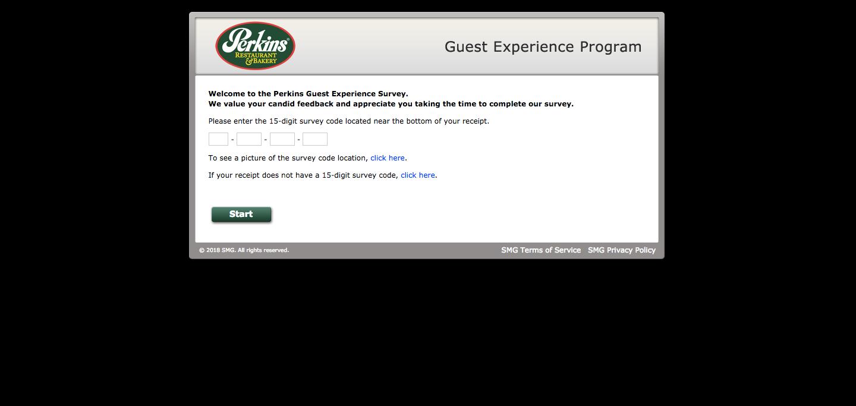 Perkins Guest Experience Program Survey