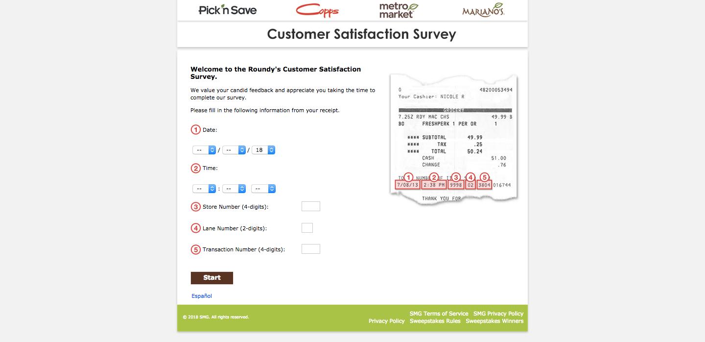 Pick n' Save Survey