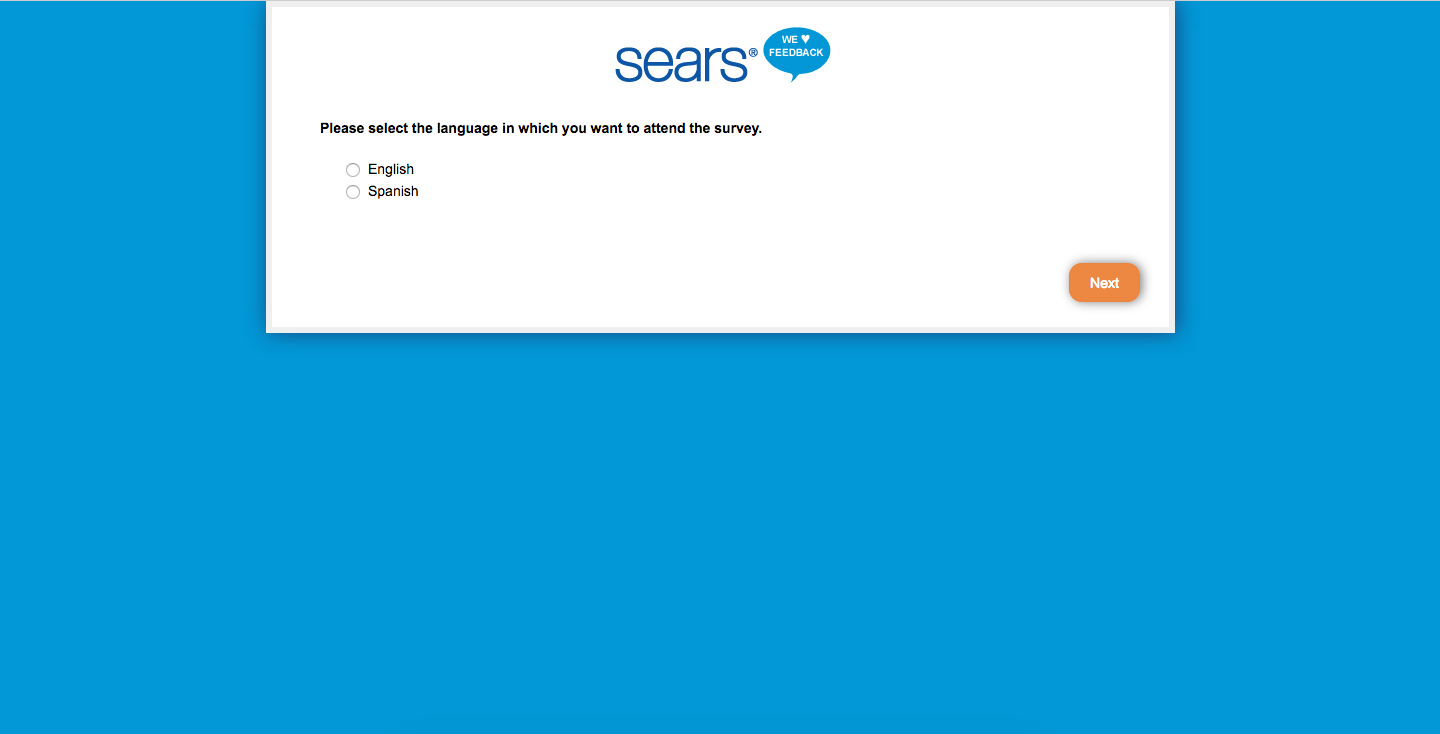 Sears Customer Feedback Survey